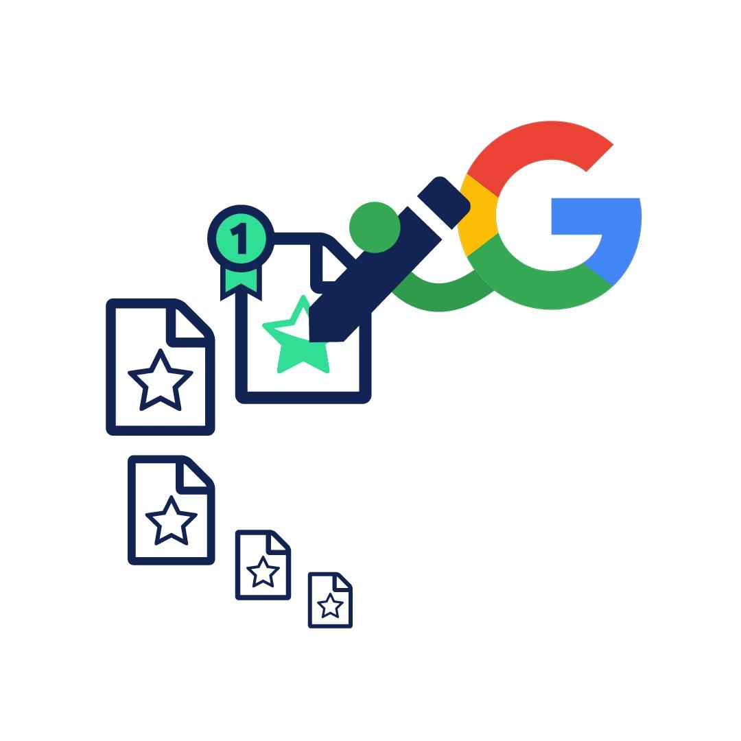 Zo kom je hoger in Google