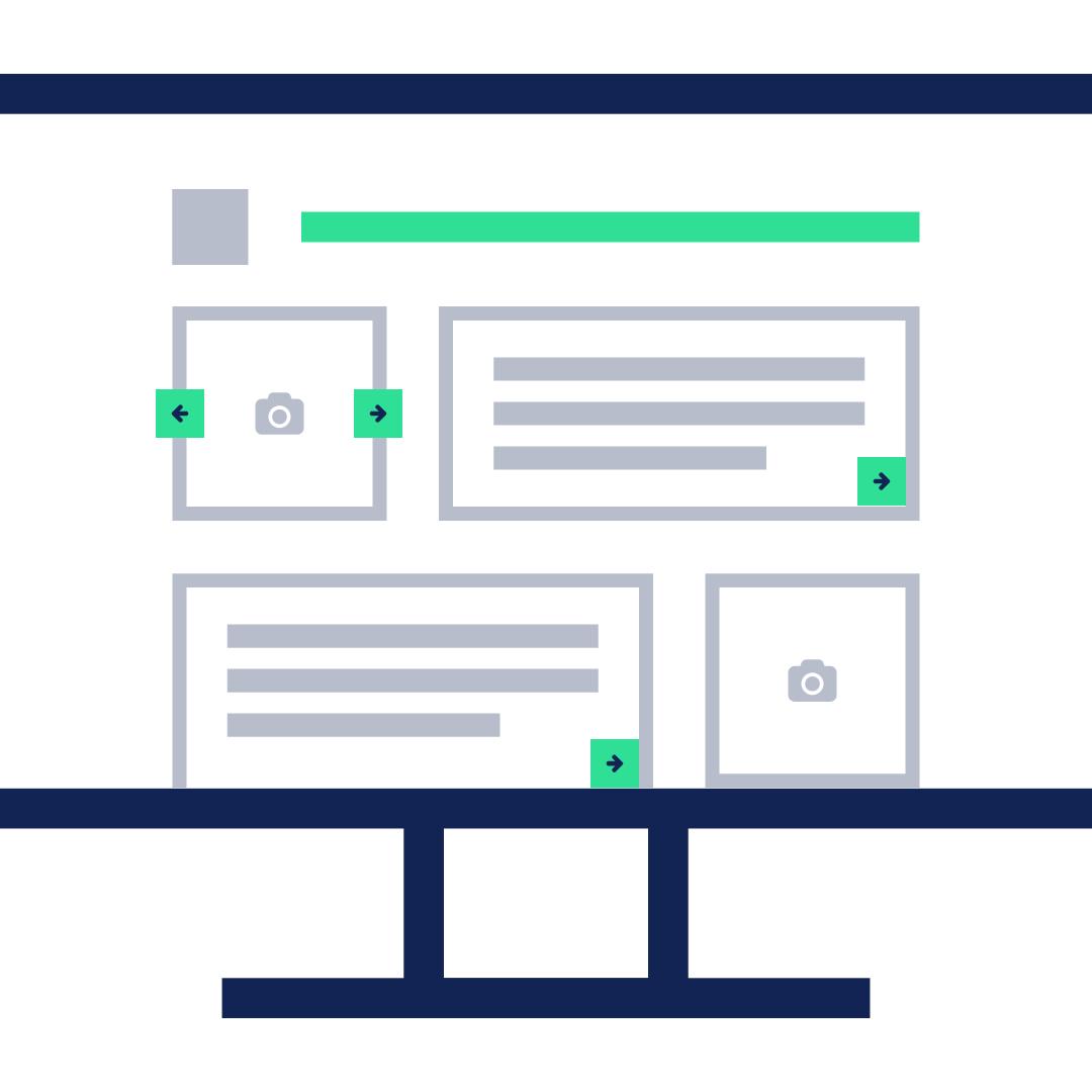 Wireframes de belangrijkste fase bij het bouwen van een website