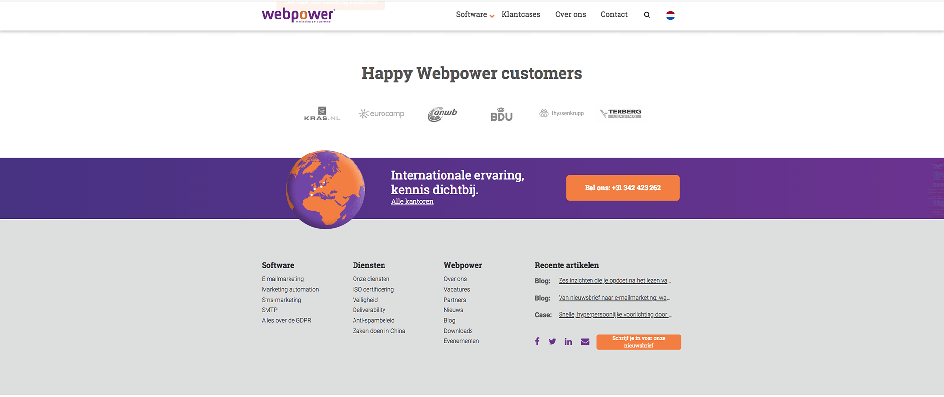 Webpower2screen