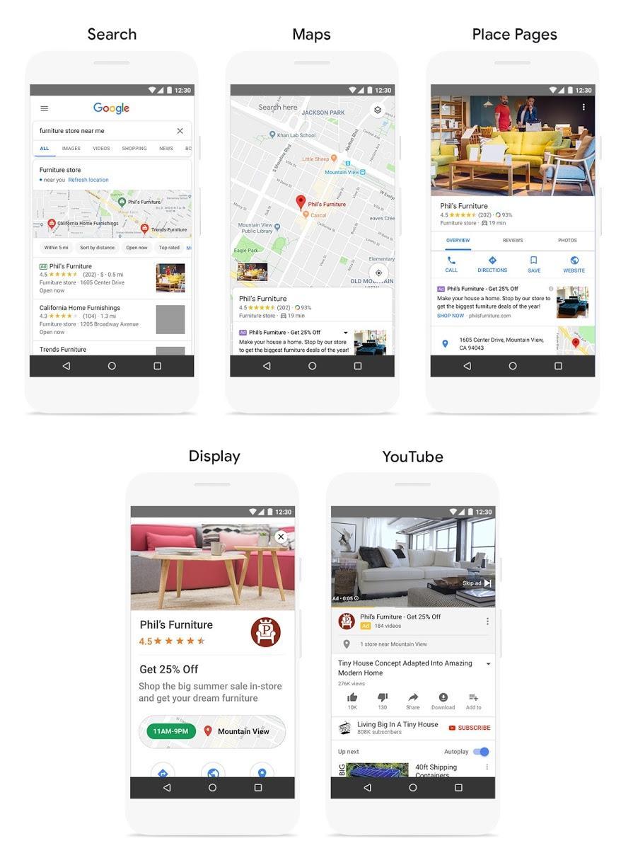 Google lokale campagnes