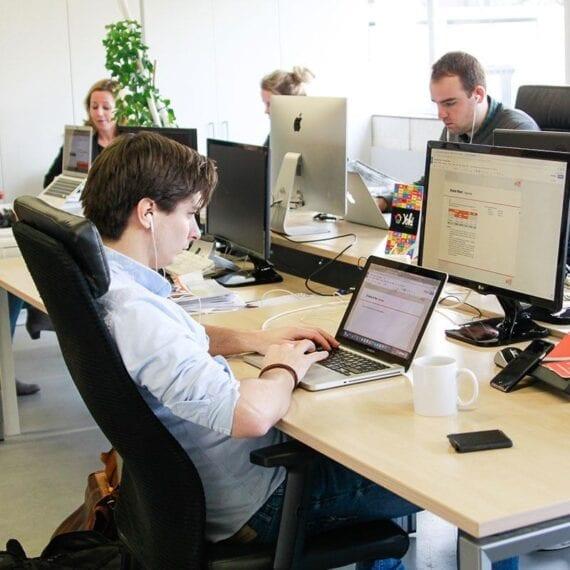 Ervaren, kundige, enthousiaste WordPress specialisten aan het werk