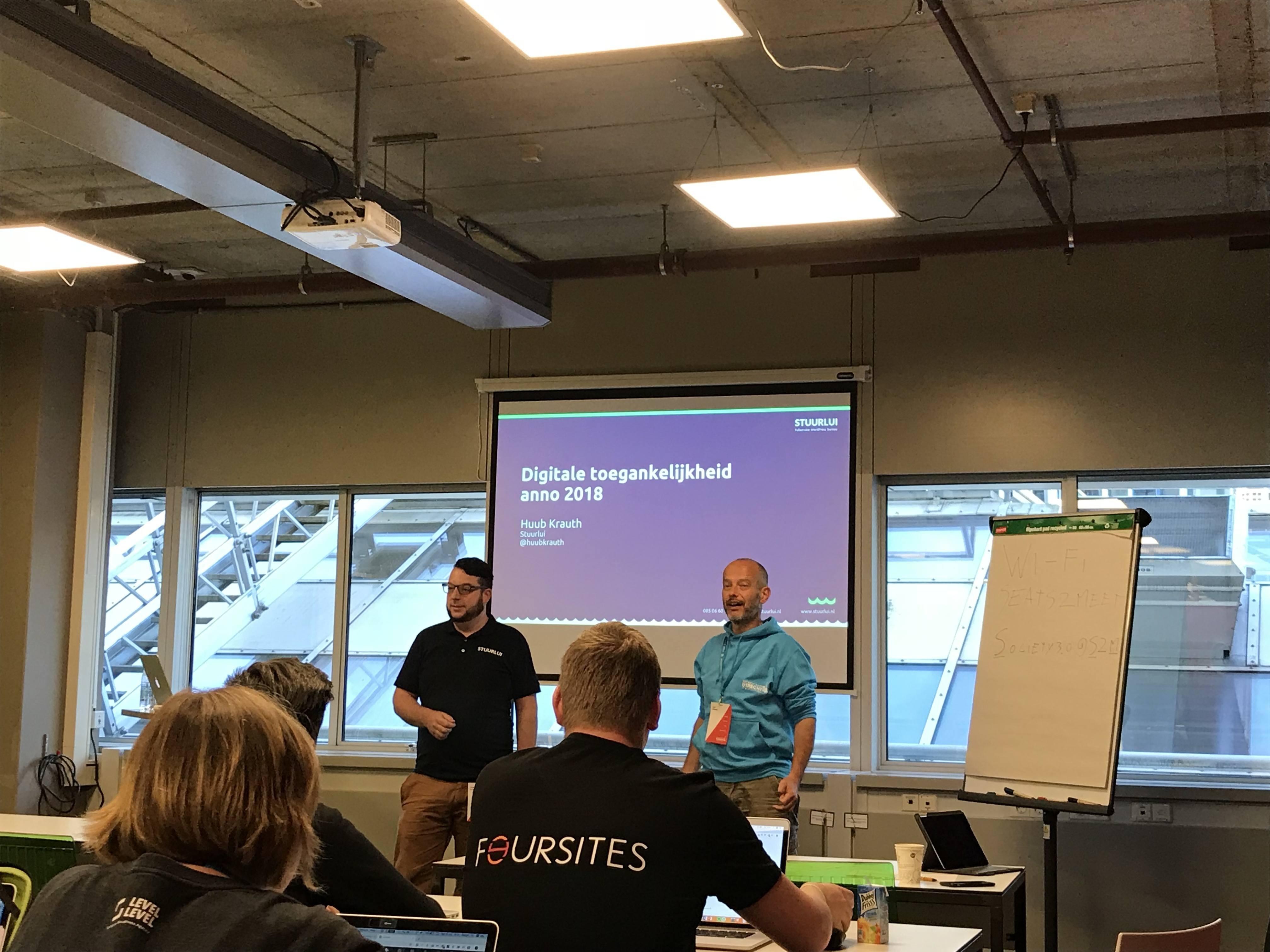 WordCamp Utrecht - Workshop Digitale Toegankelijkheid 2018 - Huub Krauth