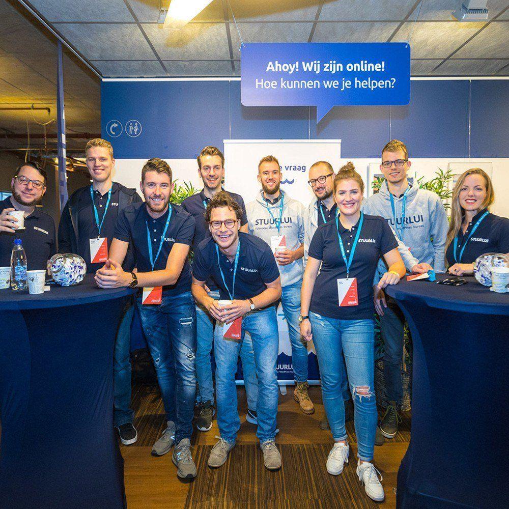 Stuurlui - een jonge, creatieve club WordPress specialisten uit Utrecht