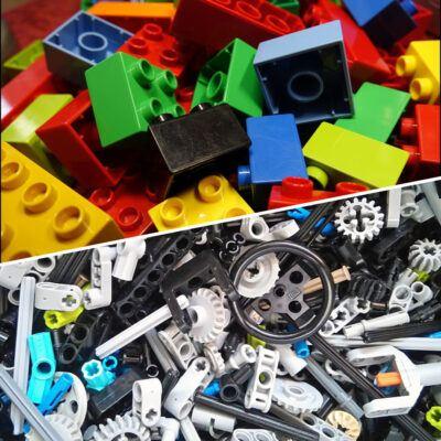 duplo vs technisch lego