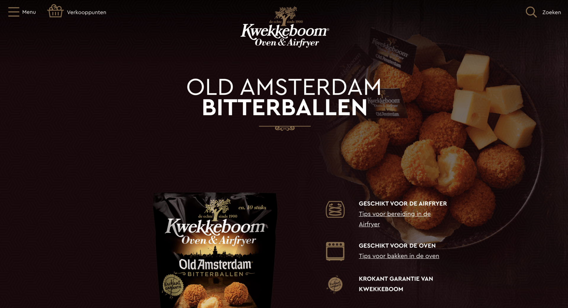 Kwekkeboom Oven WordPress screenshot 3