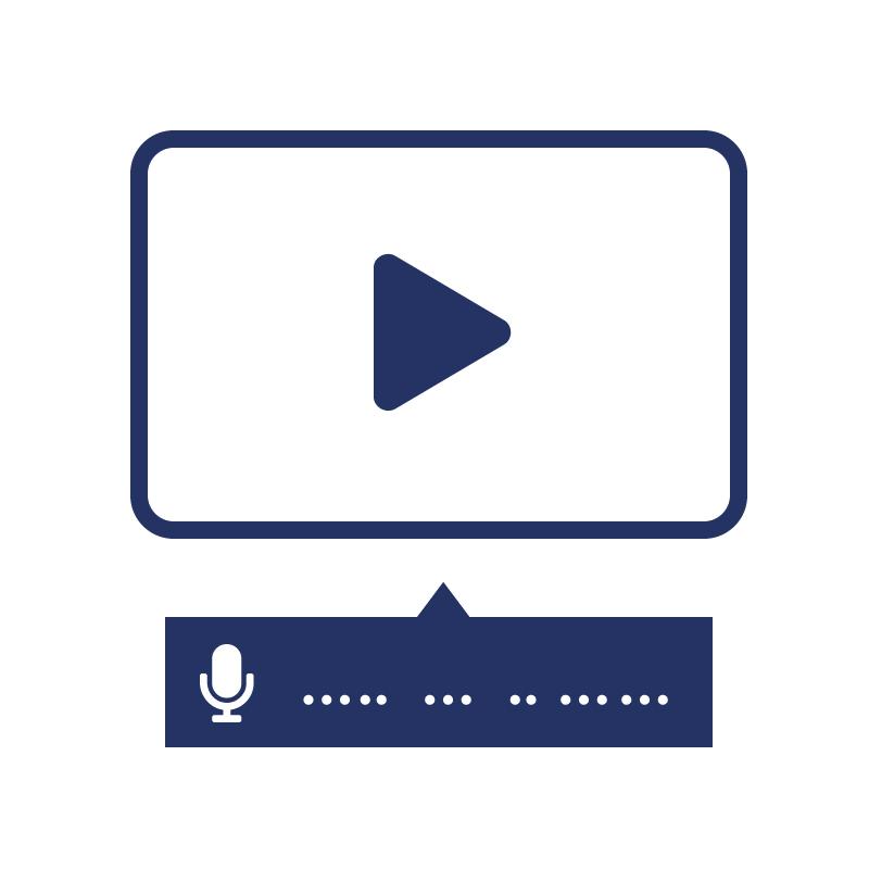1.2.5 Geef eerder opgenomen audio en video een audiobeschrijving