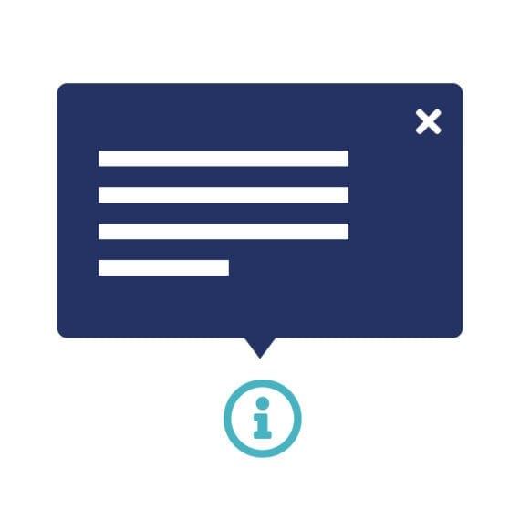 Geef bezoekers de mogelijkheid om extra inhoud te activeren of deactiveren