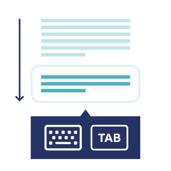 2.1.2 Voorkom toetsenbordvallen op je website