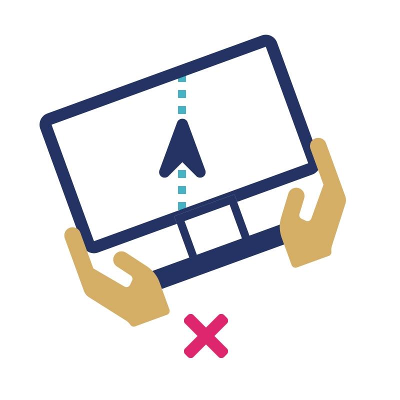 2.5.4 Zorg dat er een alternatief is voor functies die geactiveerd worden op basis van beweging