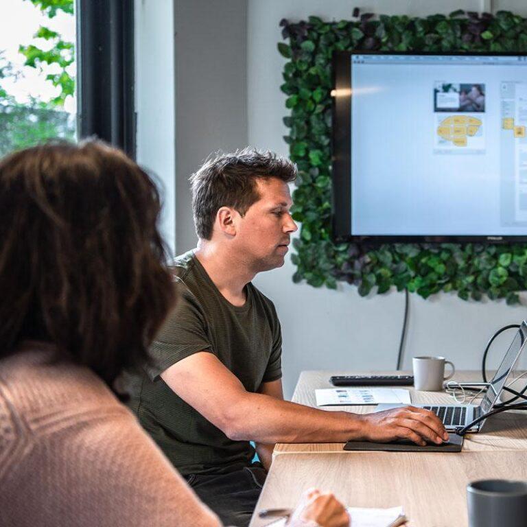 Een WordPress webiste laten maken begint altijd met een stukje strategie - waaronder het ontwikkelen van wireframes!