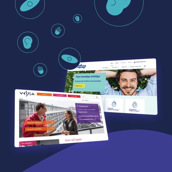 Digitale toegankelijkheid van vaste lasten-aanbieders