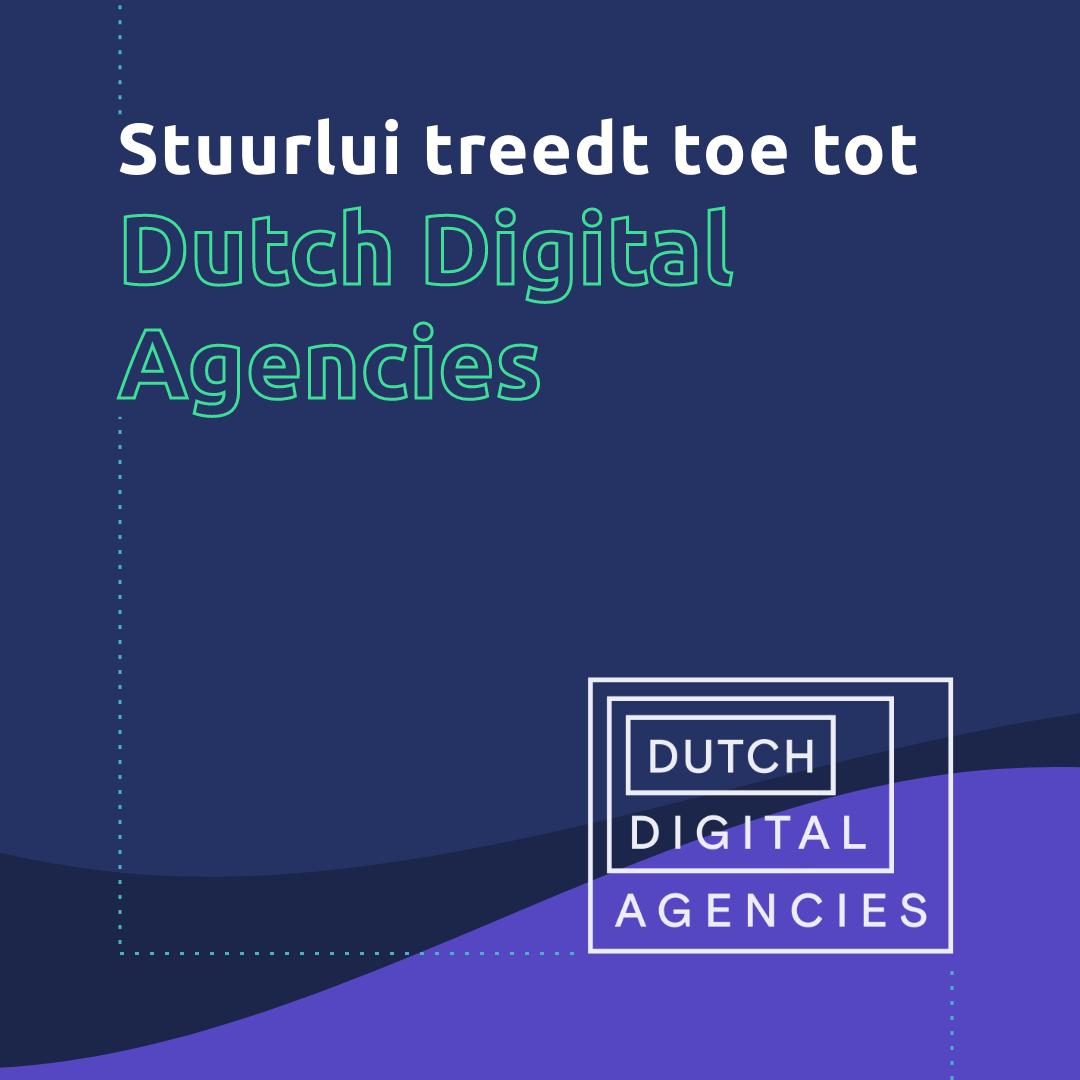 Stuurlui treedt toe tot Dutch Digital Agencies